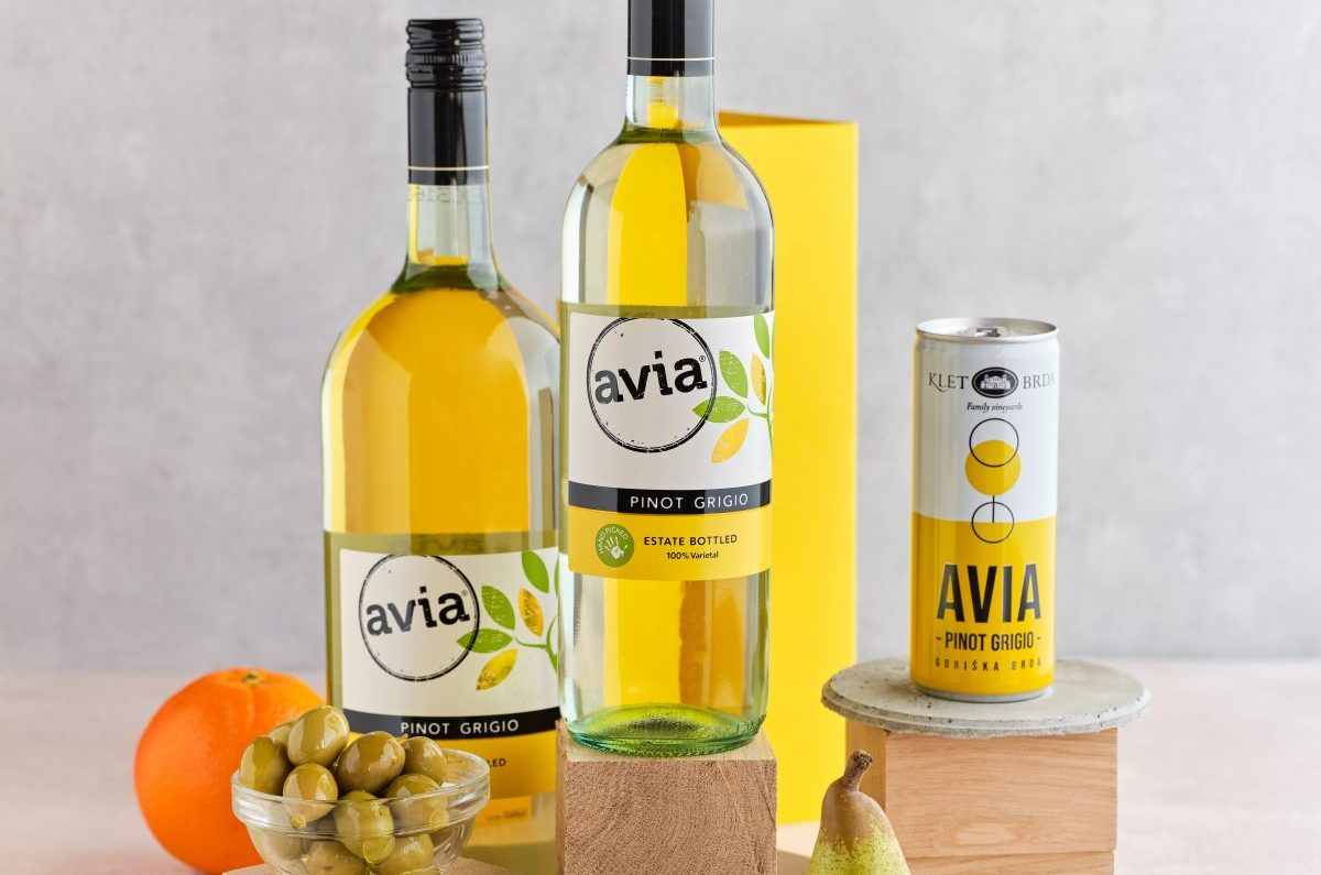 Avia Pinot Grigio Offered in New Canned Format