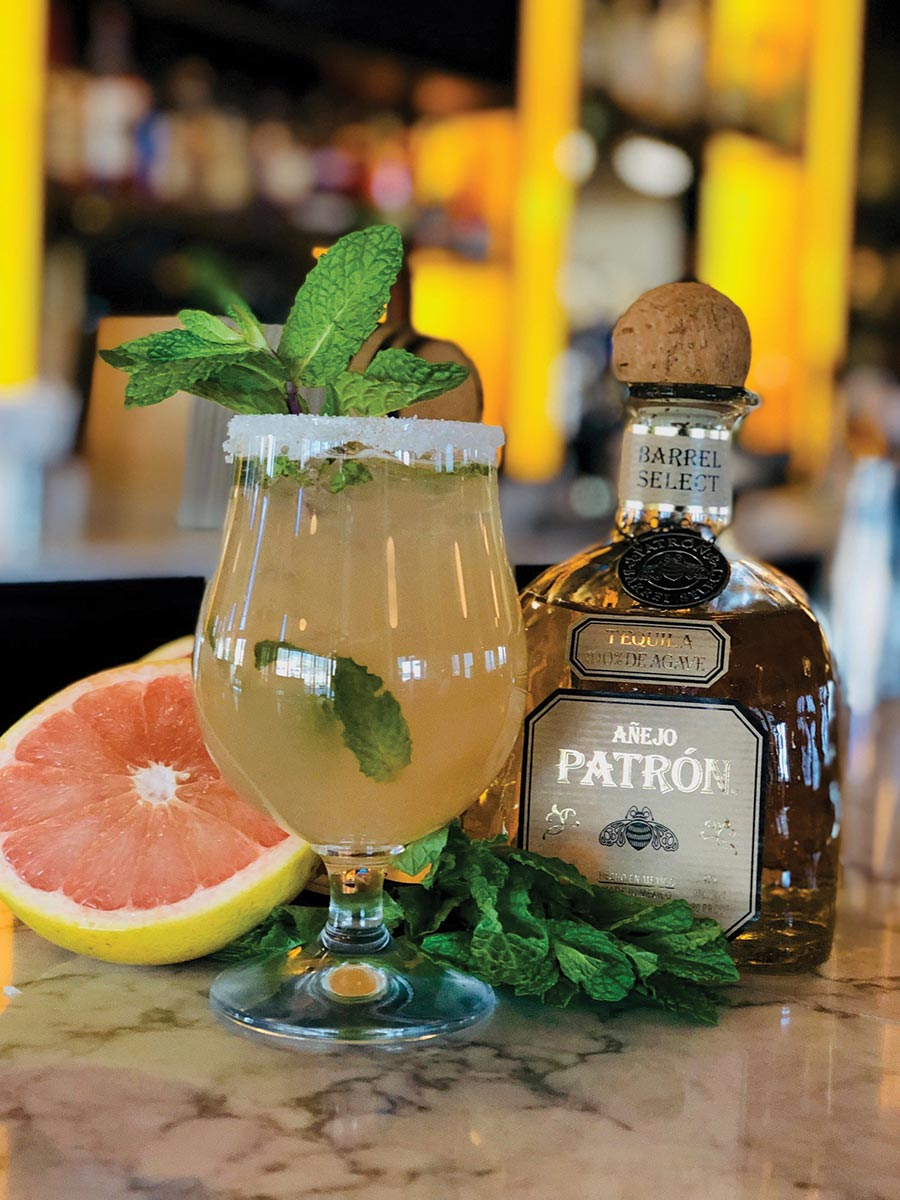Serving Up: The Barrel Select Mint Paloma at Avvio