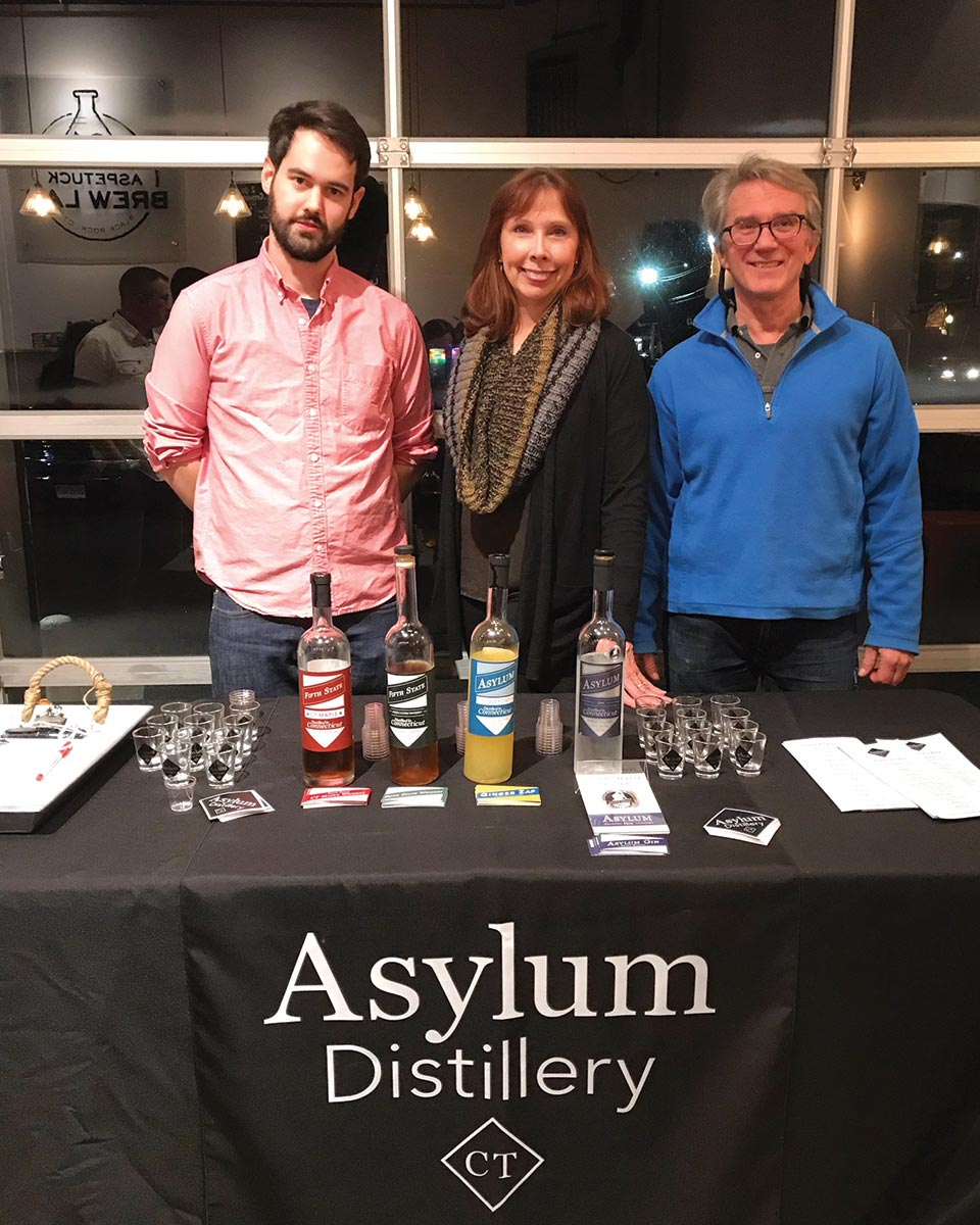 Aspetuck Brew Lab Hosts Asylum Distillery Tasting