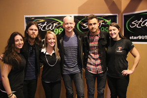 The Fray with Pederson, Carrion and Joyce from Brand Action Team.