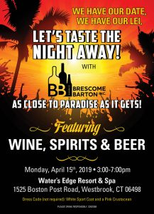 Brescome Barton Trade Tasting & Spring Show @ Water's Edge Resort & Spa | Westbrook | Connecticut | United States