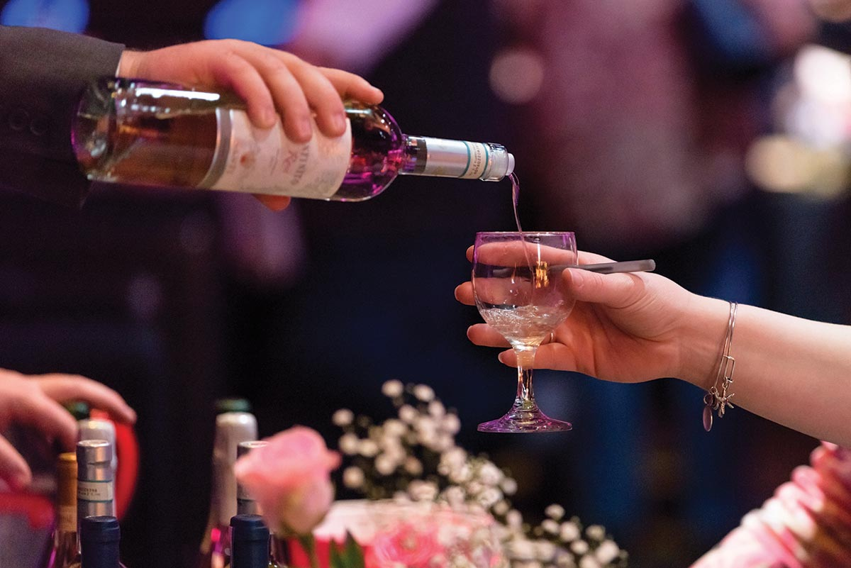 Brescome Barton Hosts Rosé Soirée at Avalon