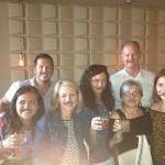 Brescome Barton and Campari USA team members celebrated Negroni Week while wearing the iconic brand mustache at Oak Haven Table & Bar in New Haven on June 5, 2015.