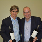 Gonzalo Bertelsen, Managing Director, Finca el Origen; Mark Raymond, New England Regional Vice President, Carolina Wine Brands.