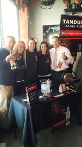 Ed Sherman, Sales Representative, Brescome Barton; Mari Carrion, On Premise Key Account Manager, Tanduay Asian Rum; Kayla Joyce, Brand Action Team; Kiersten Pederson, Brand Action Team; and Ray Cruciani, Zone Manager, Brescome Barton.