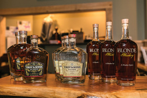Troy & Sons Whiskey is available from Allan S. Goodman and Eder Bros.