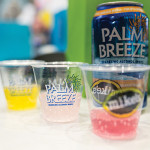 Palm Breeze flavors on display.