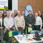C&C Distributing of Rhode Island Sales Team, including Bob Zannella, Scott Dulieu and Keith Morris of the C&C Leadership Team.
