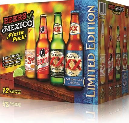Beers of Mexico Fiesta Pack is Back