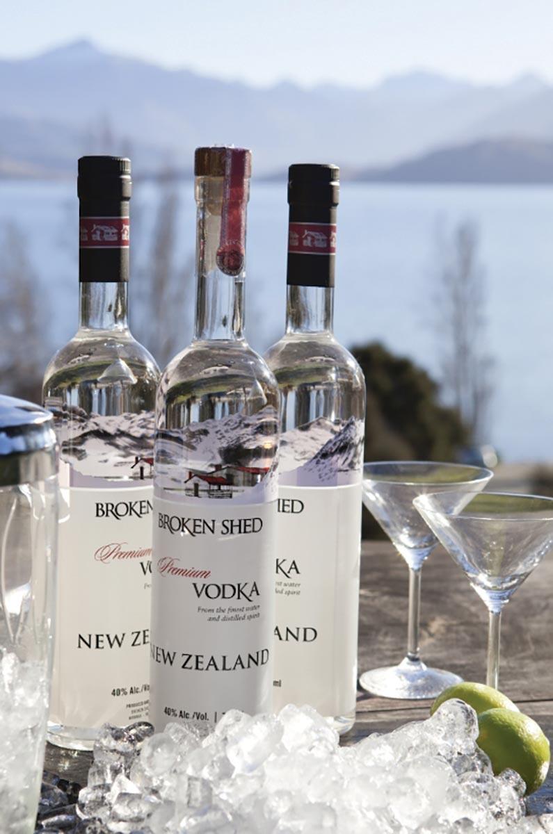 Broken Shed Vodka Available via Horizon Beverage
