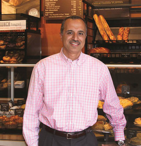 RI Hospitality Association (RIHA) board member, Cumberland resident and restaurateur Bahjat Shariff