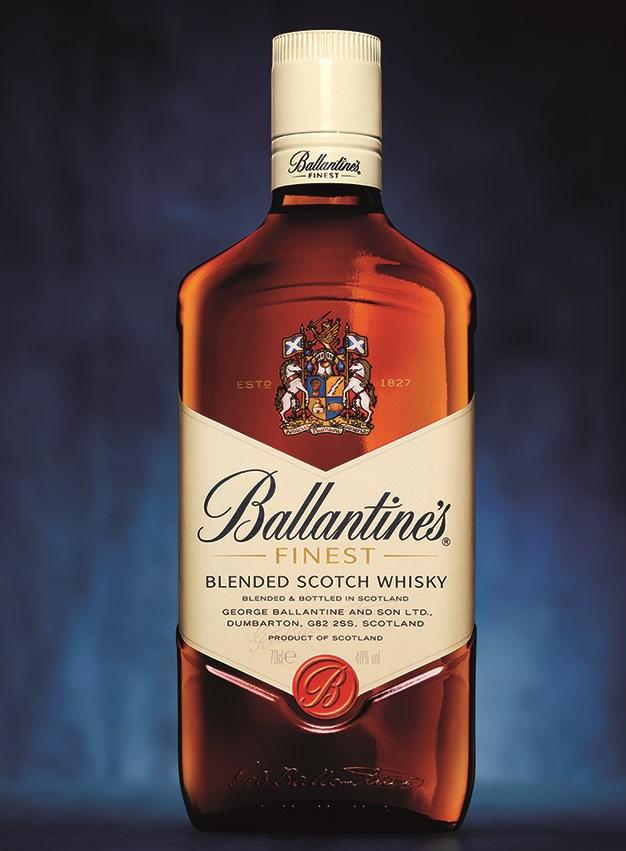 BALLANTINE'S UPDATES ITS FINEST BOTTLE