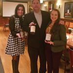 Veronica Saurett, Wine and Spirits Manager, Brescome Barton; Jamie Montesi, William Grant & Sons; and Gemma Paterson, Balvenie Brand Ambassador.