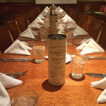 The Balvenie Single Malt Scotch Whisky dinner was held at Park Central Tavern in Hamden.