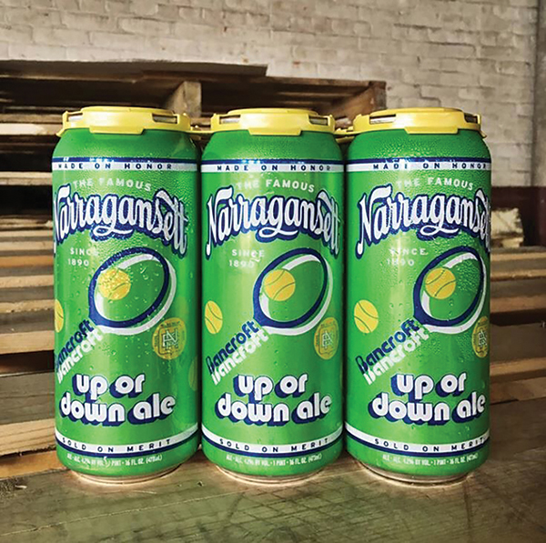 Narragansett Beer Honors State's Tennis History with New Brew