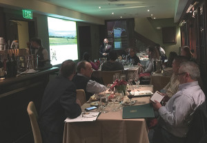 Brescome Barton'a March wine tasting showcased Banfi high-end selections.