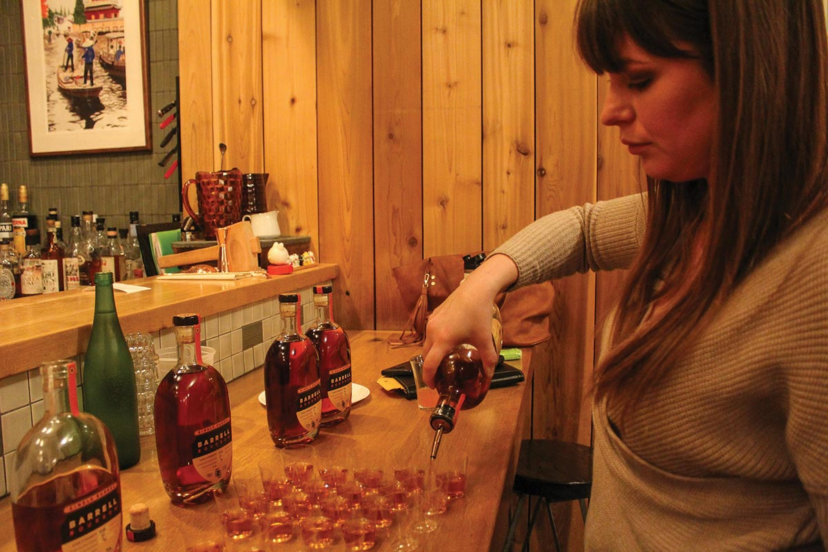 USBG New Haven Launches New Chapter with Barrell Bourbon Tasting
