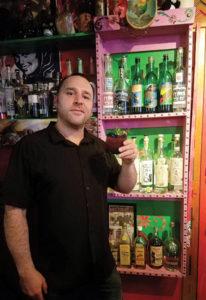 Bartender Jason Geane.