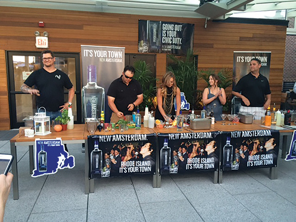 Johnson Brothers Hosts New Amsterdam Vodka Industry Night