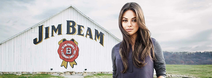 JIM BEAM PARTNERS WITH MILA KUNIS FOR FIRST GLOBAL MARKETING CAMPAIGN