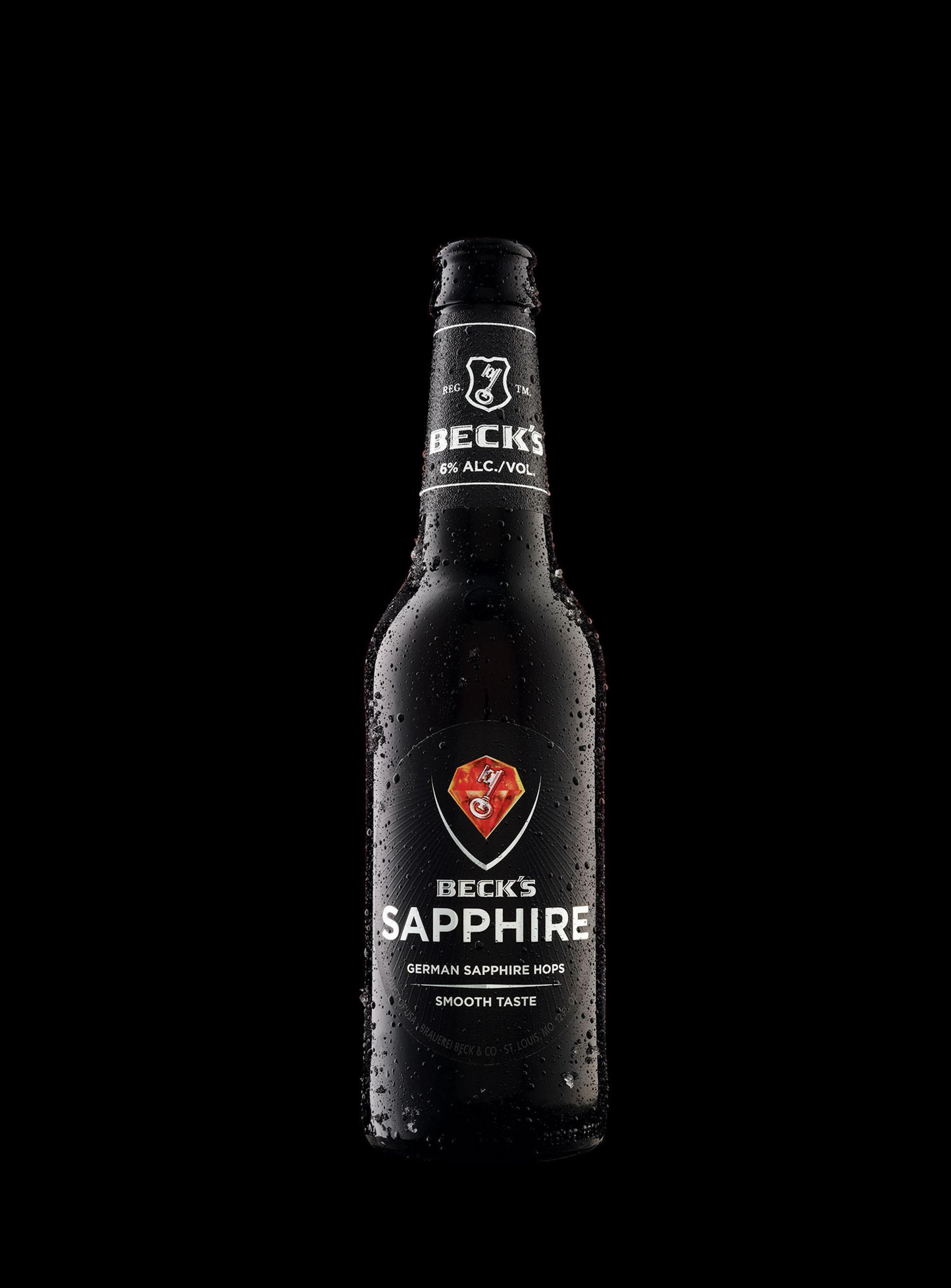 Beck's Sapphire Targets Premium Drinkers
