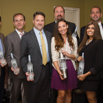 Steve Baye, Vice President of Business Management and Marketing, CDI; Edgar Garcia, COO and CFO, CDI; Brian Albenze, President, CDI; Peter Kawulicz, Business Manager, CDI; Steve Slota, District Manager, Off-Premise Division, CDI; Sandra Terenzio, ADS for Moët Hennessy, CDI; Swati Yvas, Belvedere Development Manager, North East; Daniel Saltzman, Market Manager-CT, Moët Hennessy USA; Tomas Delos Reyes, Mixology Ambassador Metro New York, Moët Hennessy USA.