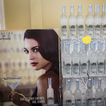 """Belvedere bottles with the campaign """"Excellent Choice, Mr. Bond"""" featuring actress Monica Belluci, in conjunction with the global release of the 24th James Bond installment, """"Spectre."""""""