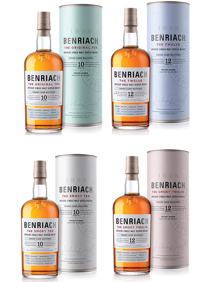 Benriach Scotch Bottles Up New Design and Expressions