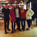 Malcolm Nicholls; Whitney Algieri, Owner, Madison Wine Shop; Benedetto Baracchi, Winemaker; Tracie Gunning; and Morgan Carlow.