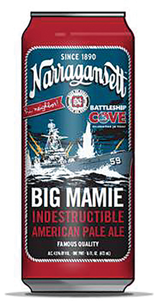 Narragansett Beer Releases Winter Brew Saluting WWII Battleship