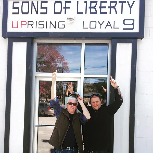 Bill Owens, President of American Distilling Institute and Mike Reppucci, Founder and President of Sons of Liberty Spirits Co.