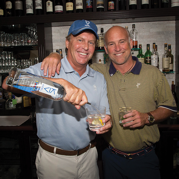 KEEL Vodka Gets in the Game at Billy's for Charity