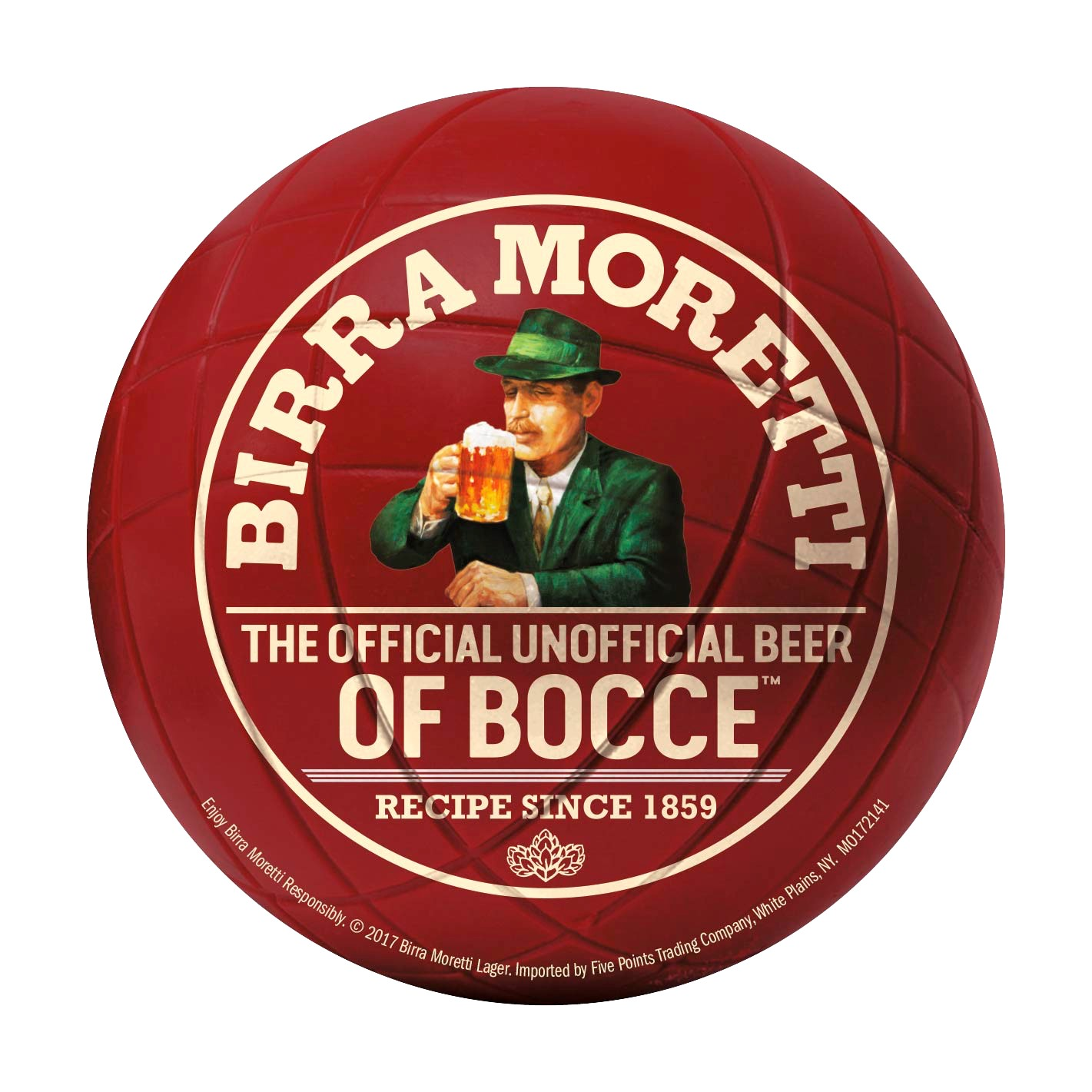 Birra Moretti's Retail and On-Premise Program Pairs With Bocce