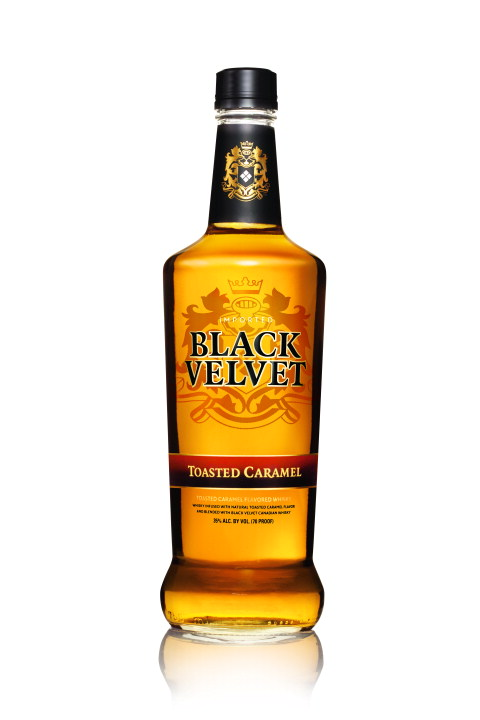 Black Velvet® Announces Toasted Caramel Flavored Whisky
