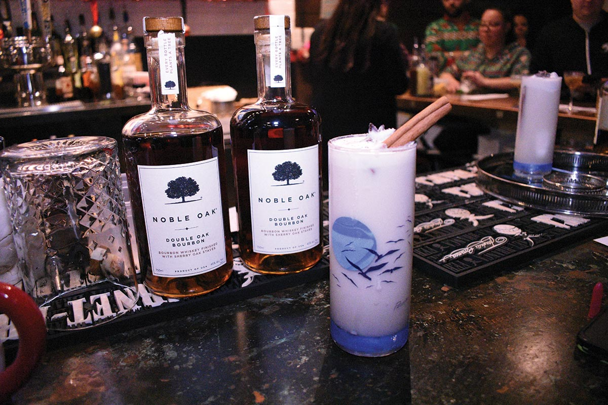 Holiday-Themed Cocktail Competition Highlights Noble Oak