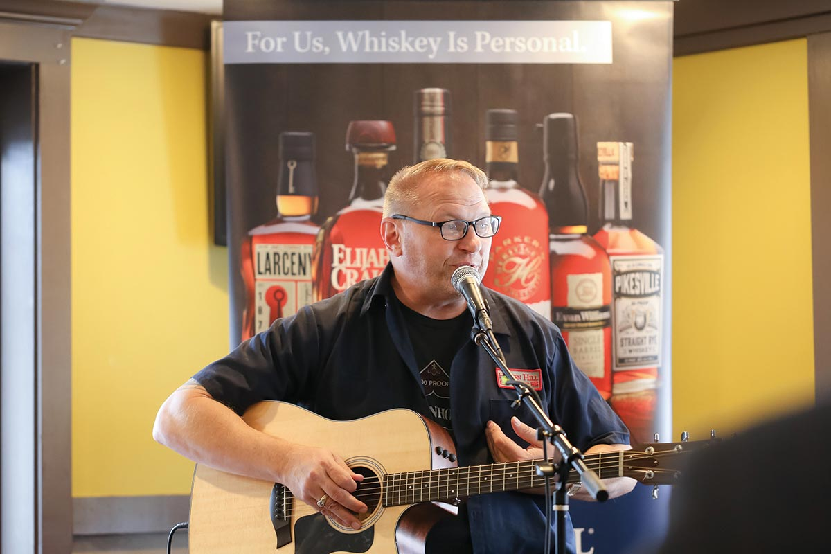 MS Walker Hosts Afternoon of Bluegrass and Bourbon