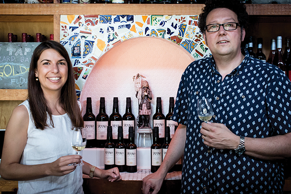 WINE BROS. HOSTS SHERRY TASTING AT BODEGA MALASAÑA