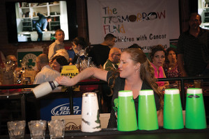 The 5th Annual Flip Out on Cancer Flair Bartending Showcase
