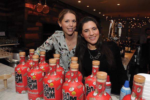 Eva Maria Janerus, CEO, Bom Bom Brands with Sarah Friedson, Promotions Specialist.