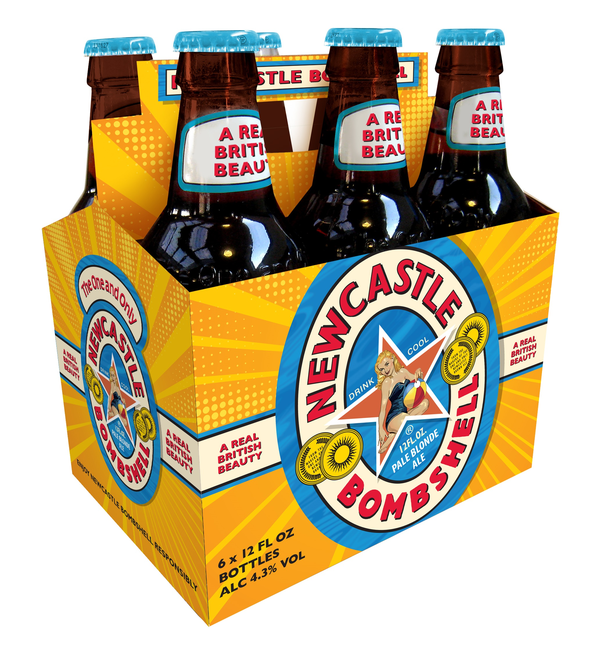Newcastle Releases Bombshell Pale Blonde Ale