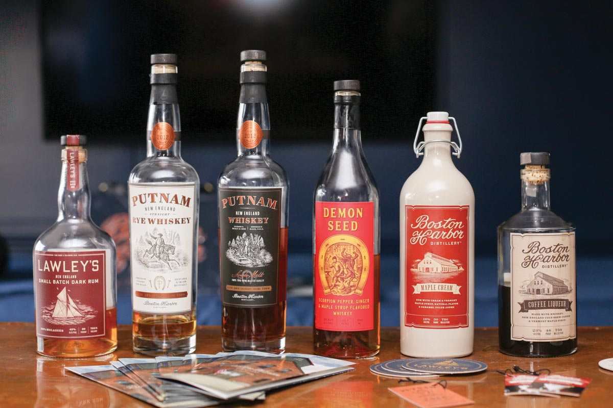 Boston Harbor Distillery Pops Up in Newport