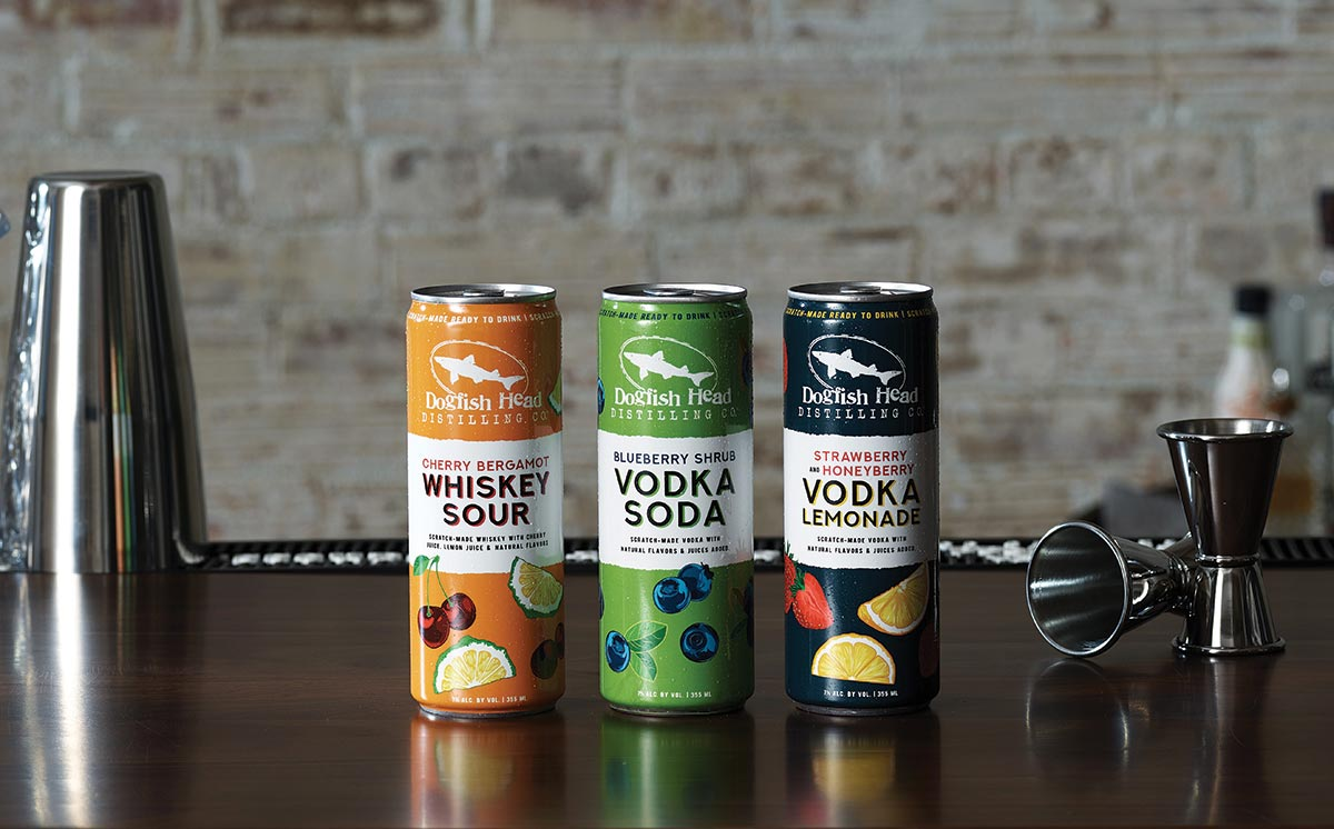 Dogfish Head Launches Ready-to-Drink Canned Cocktails