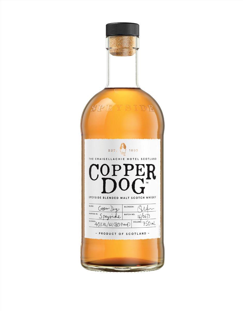 Copper Dog Blended Malt Scotch Whisky Offers Taste of Speyside