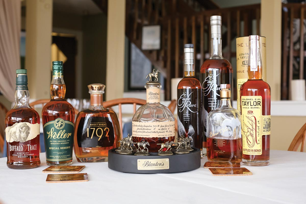 Buffalo Trace Bourbon Tasting Hosted in Newport