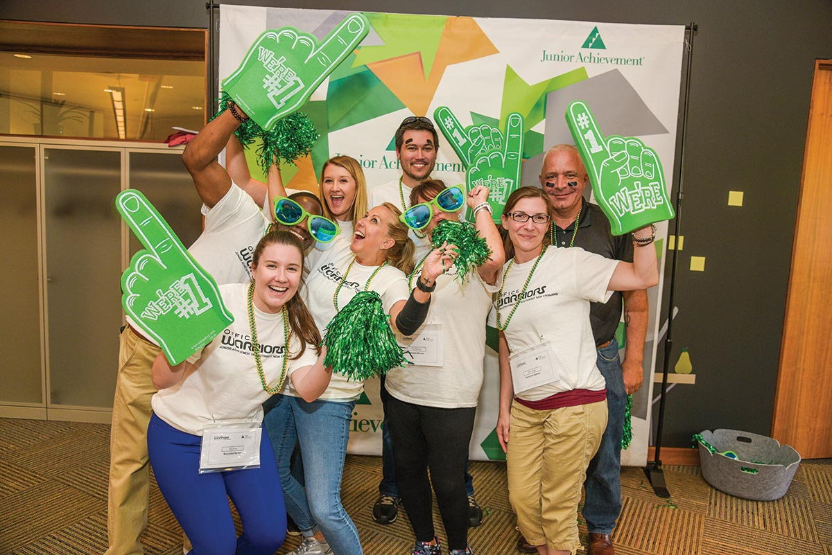 Brescome Barton Partners with Junior Achievement