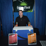 Sean McGilloway, District Manager, Green Flash Brewing Company of San Diego, CA. Rhode Island Brew Fest 2016.