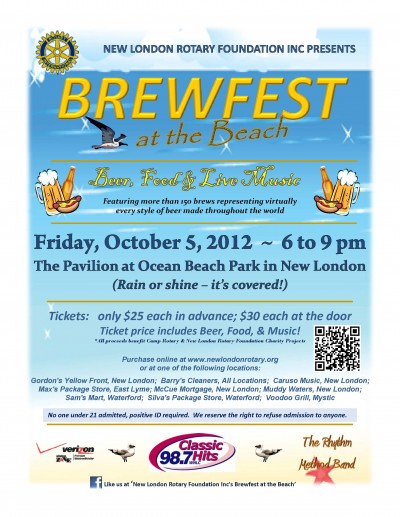 MAY 10, 2013: Brewfest @ The Beach