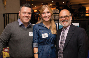 Brian Slone, Subscriber and Account Services Manager, Connecticut Beverage Journal; Savannah Mul, Editorial Administrator, Connecticut Beverage Journal; Greg Altieri, New Accounts/Events Planning, CDI.