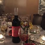 Sage Cellars and Bridge Lane wine dinner.