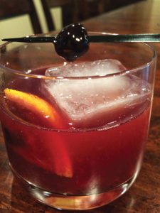 Brix Restaurant's New Fashioned 2.0
